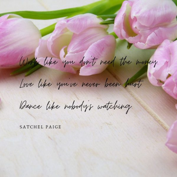 Pink floral quotes
