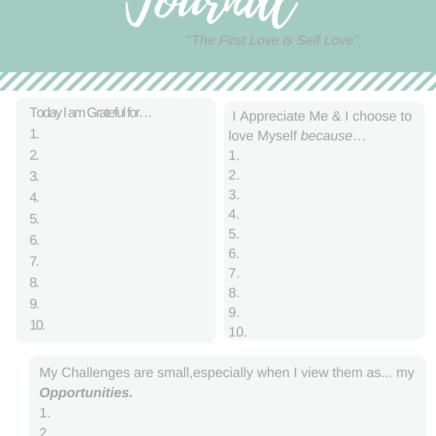 My Gratitude Journal