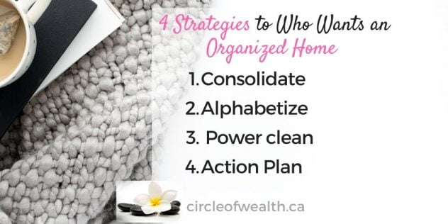 4 Strategies to Who wants an Organized Home