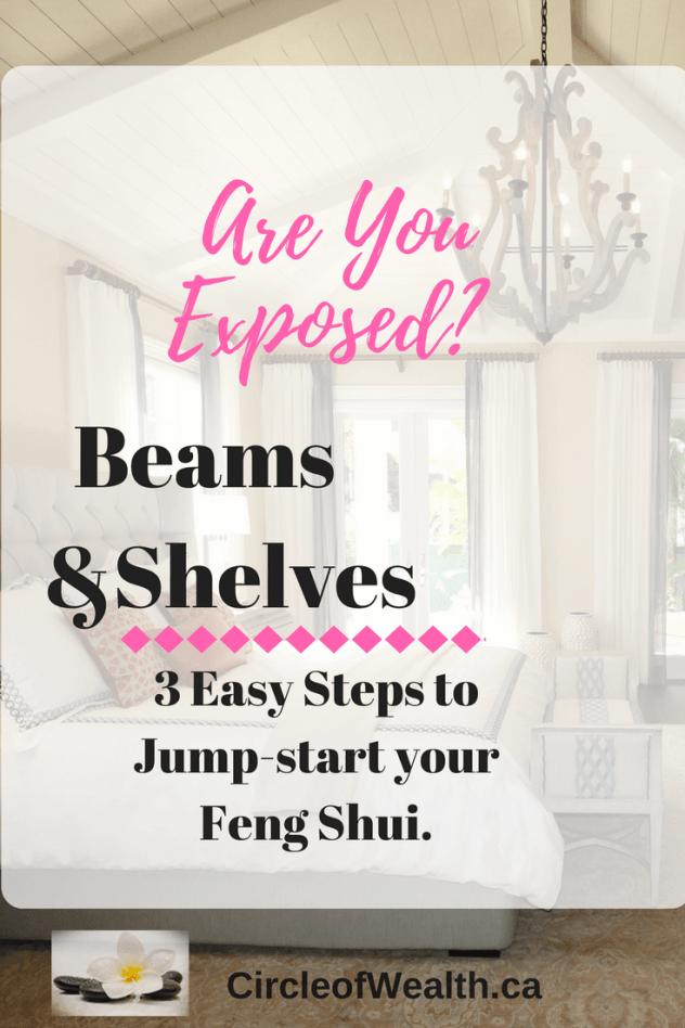 exposed beams in bedroom feng shui