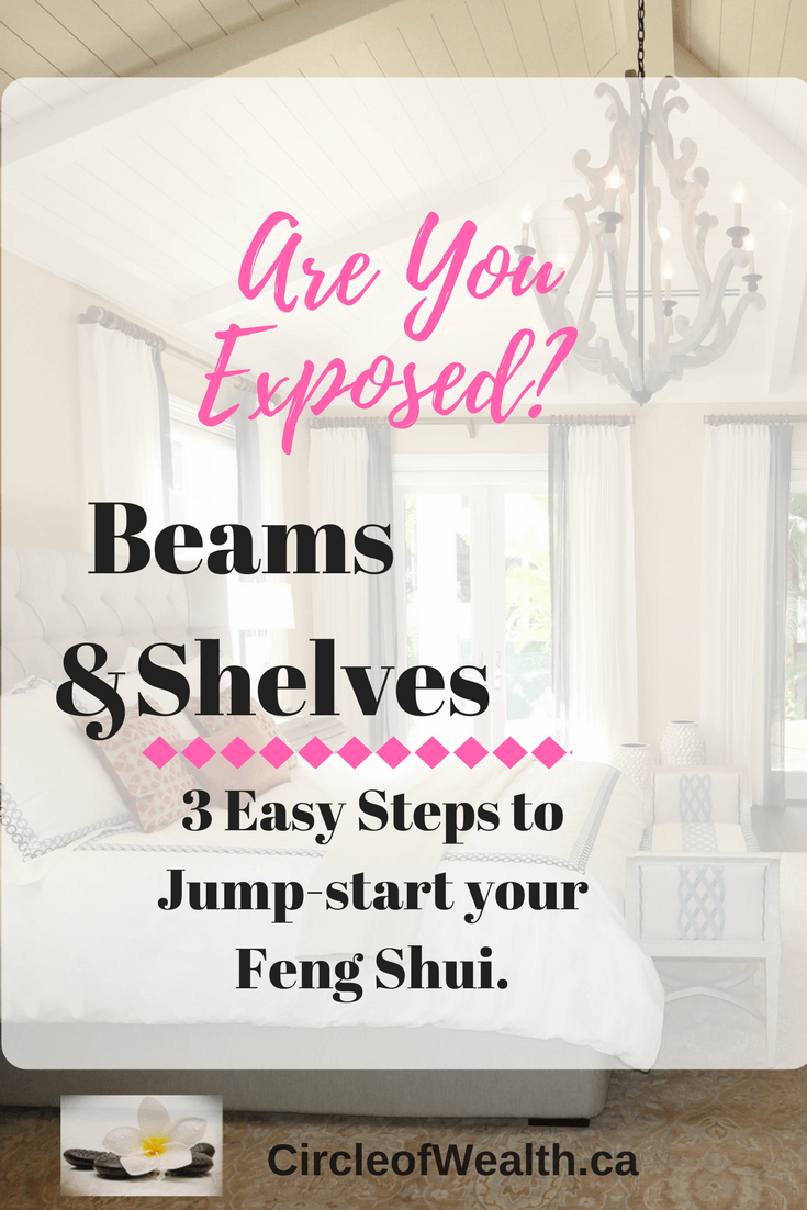 exposed beams in bedroom feng shui