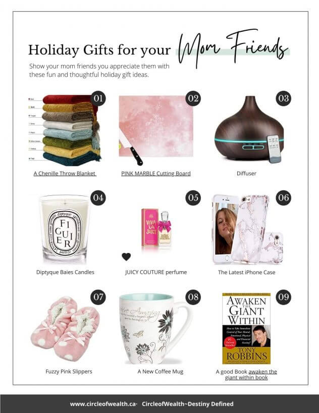 Gift Guide for Mom Friends