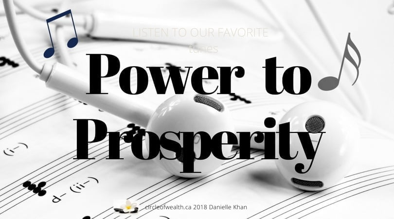 Power to Prosperity Tunes on Shopify