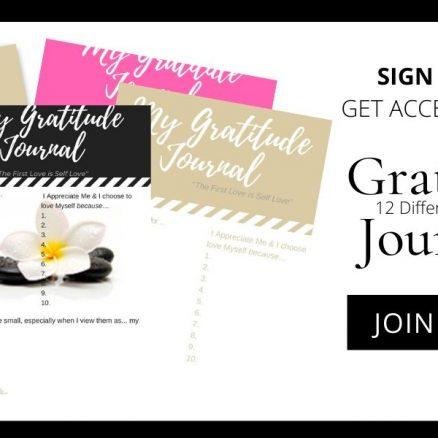 gratitude journal collection
