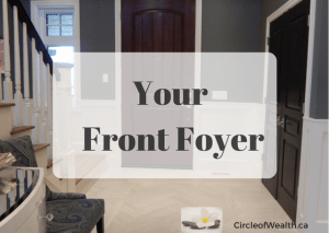 Feng Shui your Front Foyer