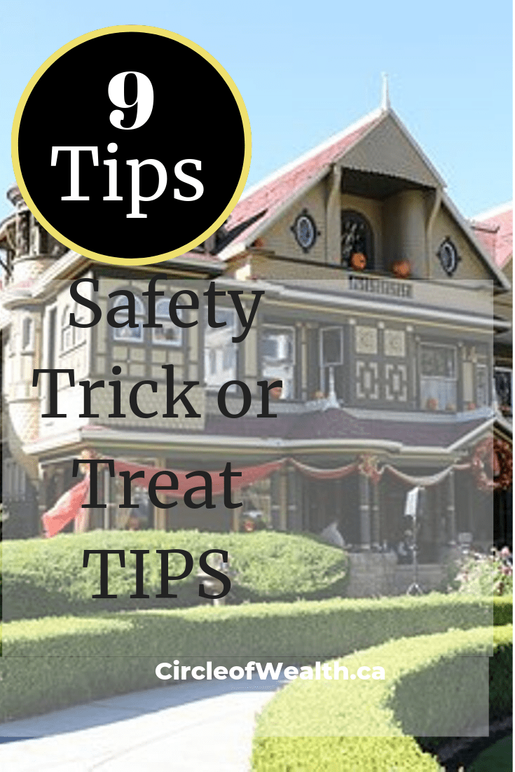 Hallowe'en Tips Here are 9 SafetyTrick or Treat TIPS_ for children_Halloween House