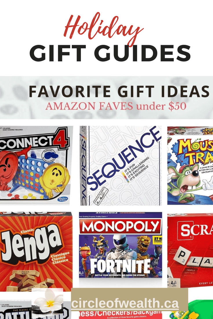 Holiday Board Games Family Teen Gift Guide