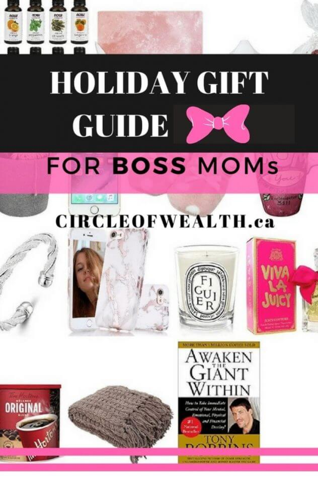 Holiday Gift Guides for Mom Bosses