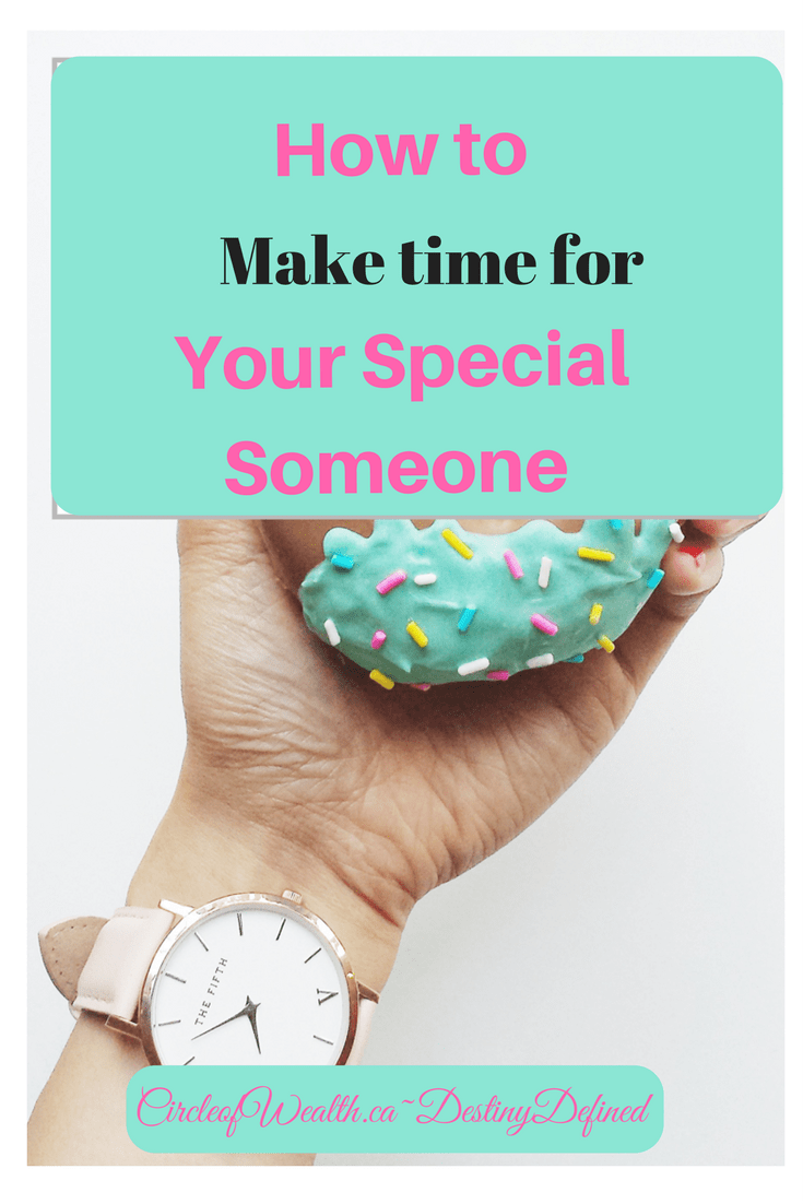 how to make time for your special someone