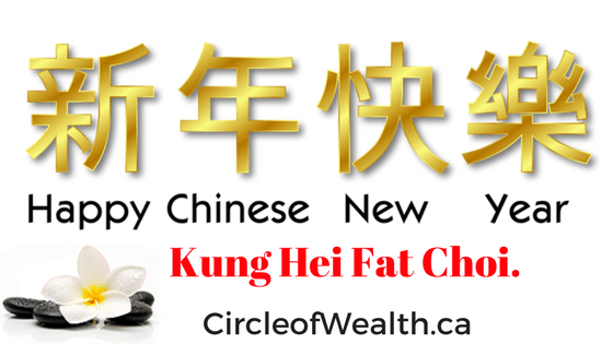 Kung Hei Fat Choi. From CircleofWealth.ca